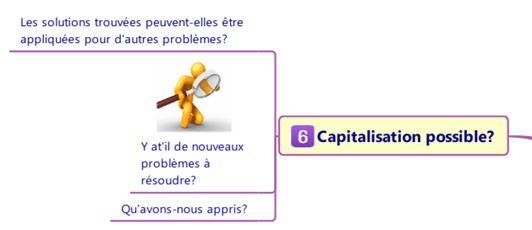étape 6 : capitalisation possible