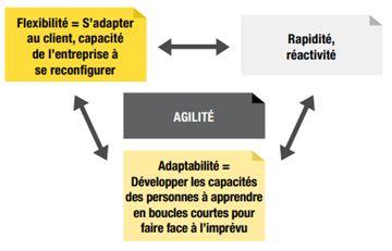 L'agilité selon Marie-Laure CAHIER et François PELLERIN pour l'industrie du Futur